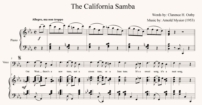 The California Samba