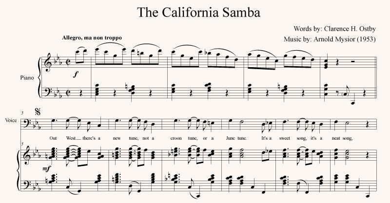 The California Samba